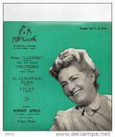 DISQUE 45t  -  MARGUERITE  SANTREUIL  -  Disque En  Espéranto. - Vinyles