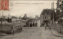 91 - CHAMARANDE - Passage à Niveau - Autres Communes