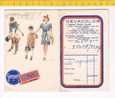 31945 ( 2 Scans ) Gevacolor - Gevaert  Rollfilm - Unclassified