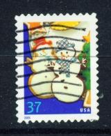 USA  -  2005  Christmas  37c  Used As Scan - Used Stamps
