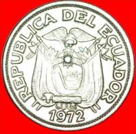 ★SHIP: ECUADOR★ 10 CENTAVOS 1972! LOW START ★ NO RESERVE!!! - Ecuador