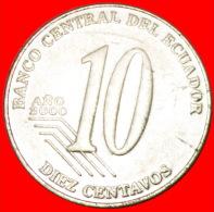 ★MILLENNIUM: ECUADOR★10 CENTAVOS 2000! LOW START ★ NO RESERVE!!! - Ecuador