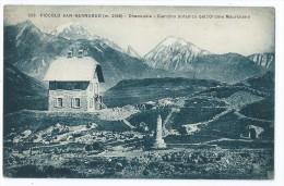 Cpa Bon Etat ,  Val D'aoste , Piccolo San-bernardo, Rare ,   Timbre Cachet  Courrier Verso , P'tit Pli Haut Droit - Unclassified
