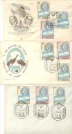 ARAMBURU FRONDIZI EMISION RECORDATORIA DE LA TRANSMISION DEL MANDO PRESIDENCIAL 1958 FDC BUEN ESTADO CUAC