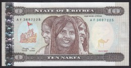 Eritrea 10 Nafka 1997 P3 UNC - Erythrée