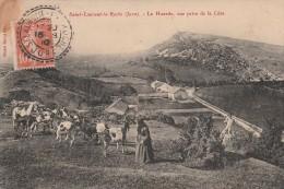 SAINT LAURENT LA ROCHE - LA HUARDE - VUE PRISE DE LA COTE - BEAU PLAN ANIME - - Other Municipalities