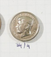 JOHN F.  KENNEDY  JFK 1963 - THE AMERICAN PRESIDENT Old Rare Pin Badge ´60 - Celebrities