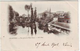 28 Chartres Vue Prise Du Pont Neuf (lavoird) Précurseur TBE - Chartres