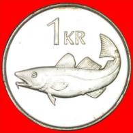 ★CODFISH: ICELAND ★1 KRONE 2006 UNC!  LOW START★NO RESERVE!!! - Islandia