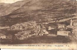 SAINT DALMAS DE VALDEBLORE. VUE GENERALE - France