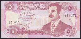 Iraq 5 dinars 1992 p80 UNC