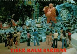"""SINGAPORE   """" THE SACK BUDDHA"""" AT THE TIGER  BALM GARDENS       (VIAGGIATA) - Singapore"""