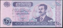 Iraq 250  dinara 2002 p88 UNC