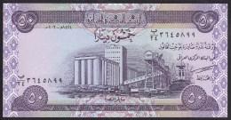 Iraq 50  dinara 2003 p90 UNC