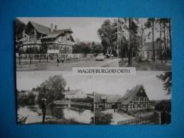 CARTE PHOTO  - MAGDEBURGERFORTH  -  Multivues  -  Betriebsferienheim Des Volksgutes - Magdeburg