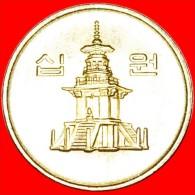 ★PAGODA: SOUTH KOREA★ 10 WON 1999 MINT LUSTER! LOW START★NO RESERVE!!! - Korea, South