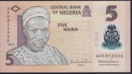 Nigeria 5 Naira 2013 P38 UNC - Nigeria