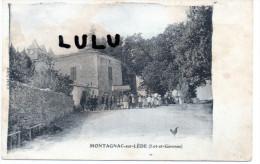 DEPT 47 : 2 Scans : Montagnac Sur Lède  ( Une Procession ) - France