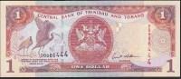 Trinidad & Tobago 1 Dollar 2002 P41b UNC - Trinidad & Tobago
