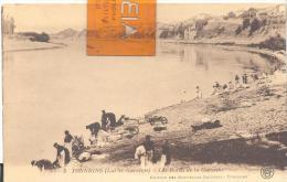 TONNEINS - Les Bords De La Garonne  ( Lavandières ) Trés Bon état ( Voir Scan ) - Tonneins
