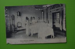 1977 CPA  Hopital Militaire Saint Martin Salle D'opération Chirurgien Medecin  Généalogie Ysembourg Arthur Catelet - Reggimenti