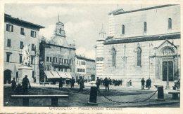 C5125 Cpa Italie - Grosseto, Piazza Vittorio Emanuele - Grosseto