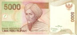 BILLETE DE INDONESIA DE 5000 RUPIAH DEL AÑO 2013 CALIDAD EBC (XF)(BANKNOTE) - Indonesia