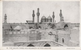 The Golden Tombs And Minaretts Of Iman  Kazimes   - Scan Recto-verso - Iraq