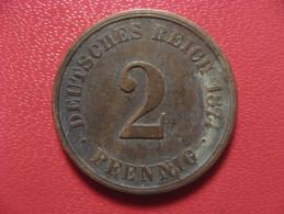 Allemagne - 2 Pfennig 1874 A 2375 - [ 2] 1871-1918 : Imperio Alemán