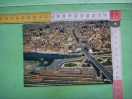 29) St Quentin :  Vue Aerienne , Gare , Canal  : Multivues   : Recto -verso - Saint Quentin