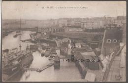 29 - BREST---Le Port De Guerre Vu Du Chateau - Brest