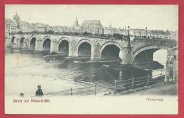 Groet Uit Maastricht - Maasbrug - 1910 ( Verso Zien ) - Maastricht