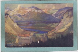 BANIFF  SPRINGS  HOTEL  -  1930  - - Banff