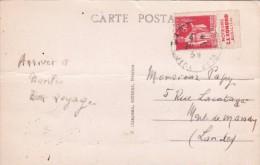 50 C Type Paix 1934 PUBLICITE Moteurs Conord à Rueil (92) Sur Carte Postale @ Pub - Advertising