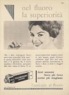 # DENTIFRICIO CHLORODONT 1950s Advert Pubblicità Publicitè Reklame Toothpaste Zahnpaste Oral Dental Healthcare - Attrezzature Mediche E Dentistiche