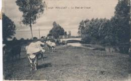 CPA 01 POLLIAT Le Pont De Crozet - Otros Municipios