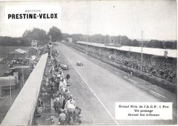 Photo  Course Automobile Grand Prix De L' ACF 1930 , Pau, Passage Devant Les Tribunes - Grand Prix / F1