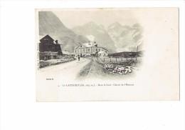 38 - LE LAUTARET - Dans Le Fond : Glacier De L'Homme - N°4 Cliché B. - P. Vollaire - Frankreich