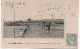 NOIRMOUTIER   LA CROIX A L'ENTREE DU PASSAGE DU GOIS - Ile De Noirmoutier