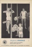 # MAGLIERIA RAGNO 1950s Advert Pubblicità Publicitè Reklame Underclothes Lingerie Ropa Intima Unterkleidung - Biancheria Intima