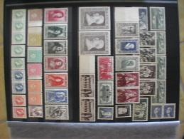 A Album de timbres ** ann�es 40 � 59 Cote + de 2200 euros !!!