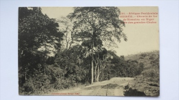 GUINEE Afrique CHEMIN DE FER De KONAKY Au NIGER Pres Grandes Chutes CPA Animee Postcard - Guinée