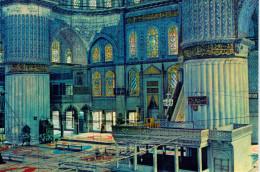 ISTAMBUL   INTERIOR  OF  THE  BLUE  MOSQUE       (NUOVA) - Turchia