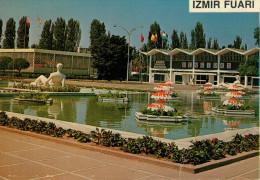 IZMIR  FUARI  KATKATLI  HAVUZ        (VIAGGIATA) - Turchia