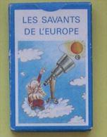 SAVANTS ET EUROPE - JEU DE CARTES 7 FAMILLES - COLLEGE FONTENAY AUX ROSES-PRIX SOPHIE GERMAIN 1991-UNION PHYSICIENS - Autres