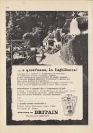 # BRITISH TRAVEL ASSOCIATION ITALY 1950s Advert Pubblicit� Reklame Tourism Tourisme Turismo UK England Britain