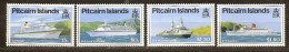Pitcairn Islands 1991 Yvertn° 366-69 *** MNH Cote 11 Euro Bateaux Ships Boten - Timbres
