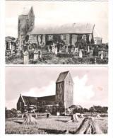 Deutschland - 2 AK - Wyk Auf Föhr - St. Laurent Kirche - St. Nikolai Kirche - Föhr