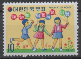 Korea South 834** CHILDREN'S DAY - Corea Del Sud