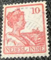 Netherland Indies 1914 Queen Wilhelmina 10c - Used - Indes Néerlandaises